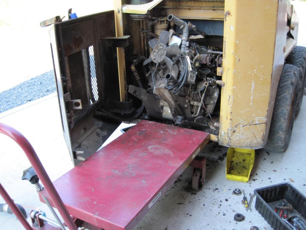 3 cylinder diesel engine