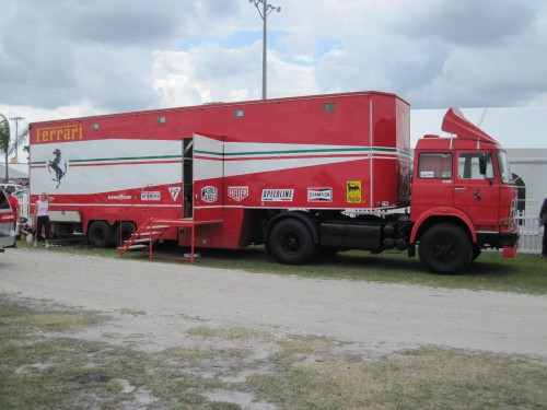FIAT Ferrari truck