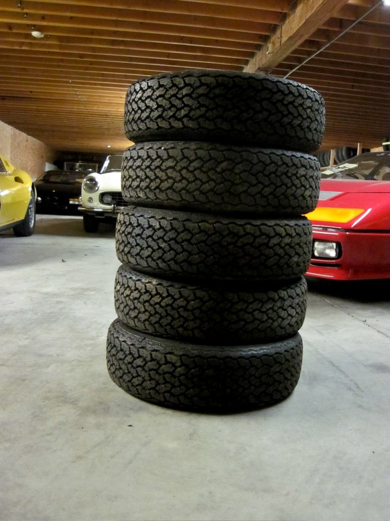 Michelin XWX Tires for a Dino or Ferrari 308