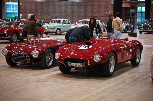 Marzotto Team cars 212, 340 Ferrari