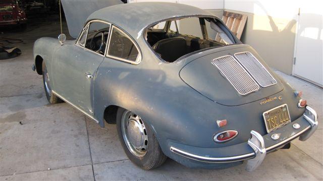 Barn Find Porsche 356