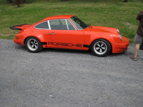 911 Orange coupe