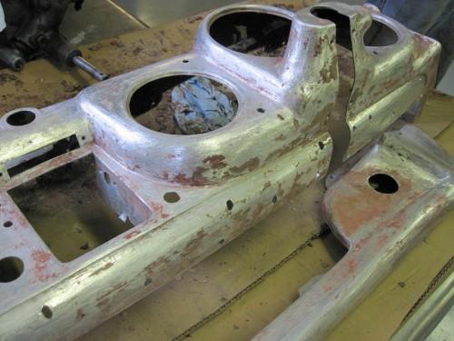 166 Touring dash panel