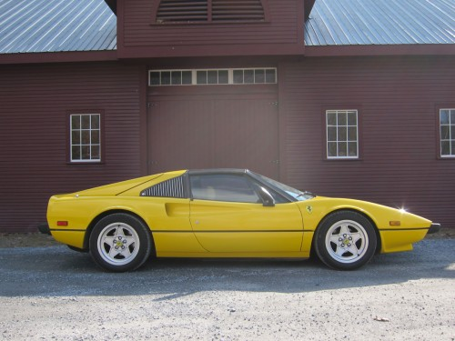 1979 Ferrari 308 GTS Fly Yellow at RPM
