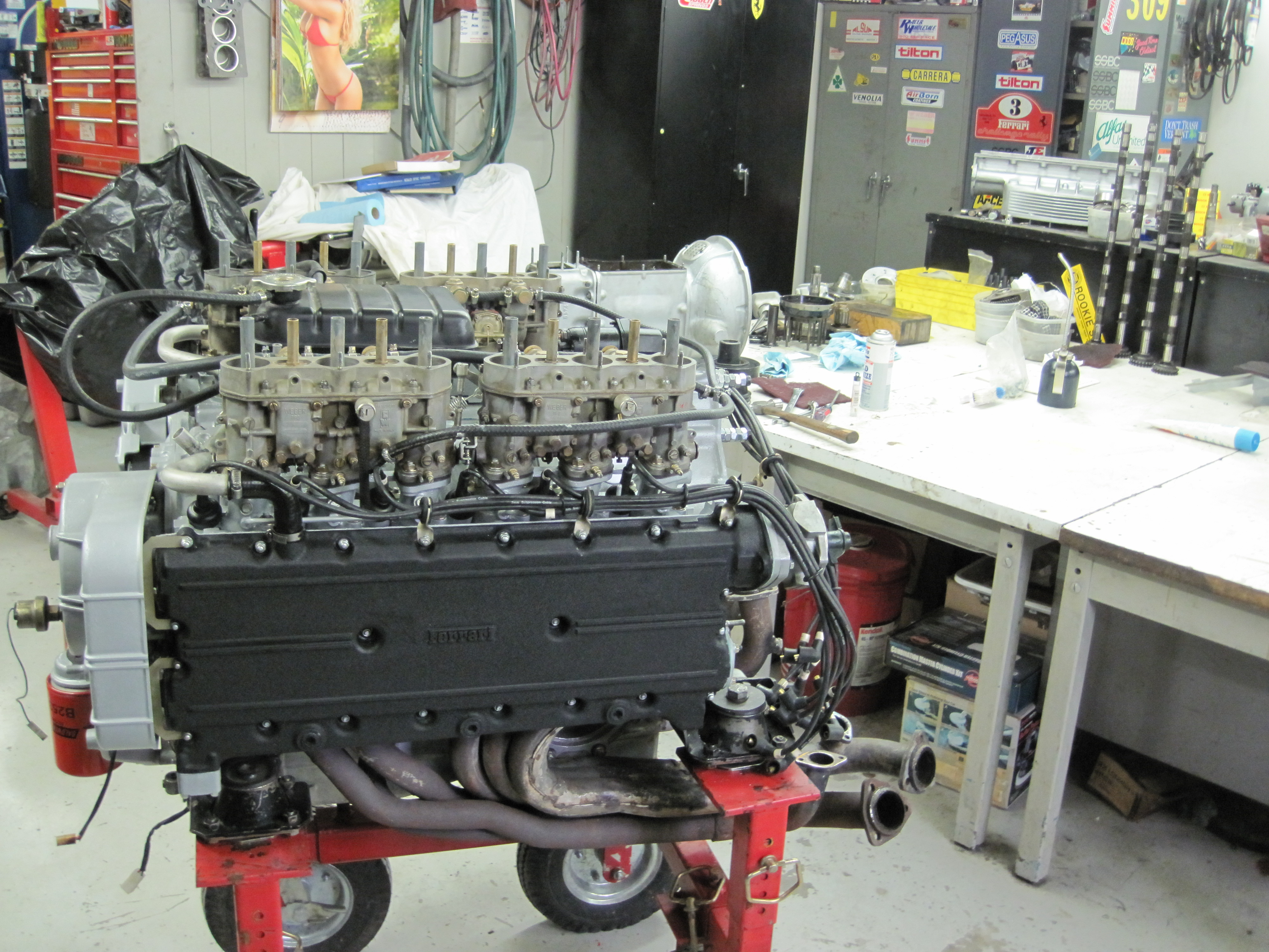 Boxer engine Almost finished