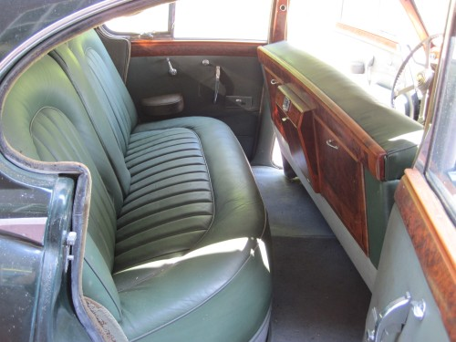 Jaguar Interior 1960