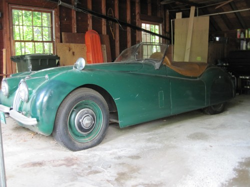 XK-120 barn find