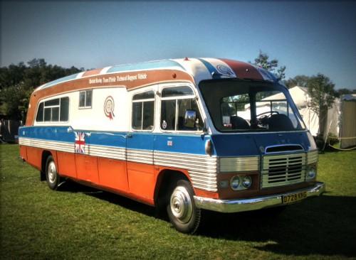 Wayne Carini's Leyland Bus