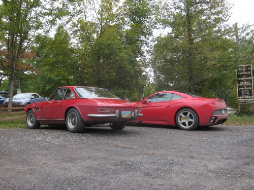 GTC and Ferrari California