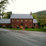 A historic house that is part of The Homestead