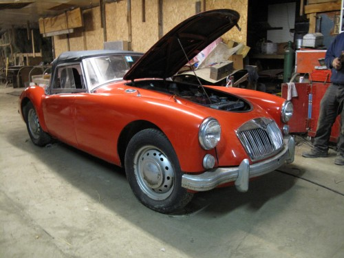 MGA 1600 Barn Find