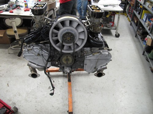 Early Porsche 911 overhaul
