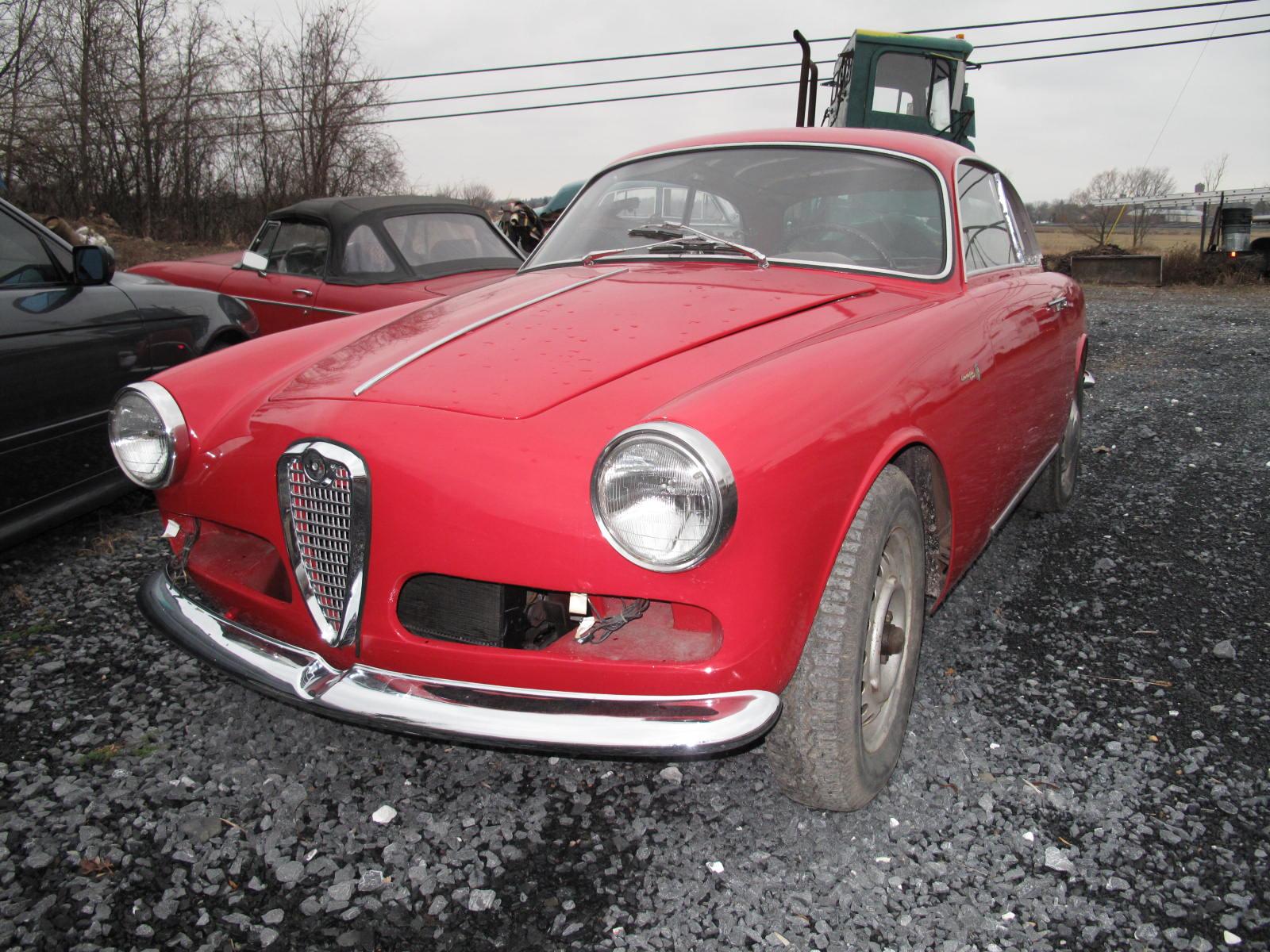 1958 Alfa Romeo Giulietta Spider 750D for sale on BaT