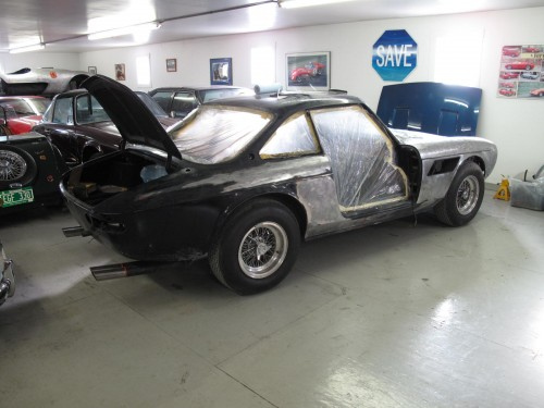 Refinishing a Ferrari 330 GTC
