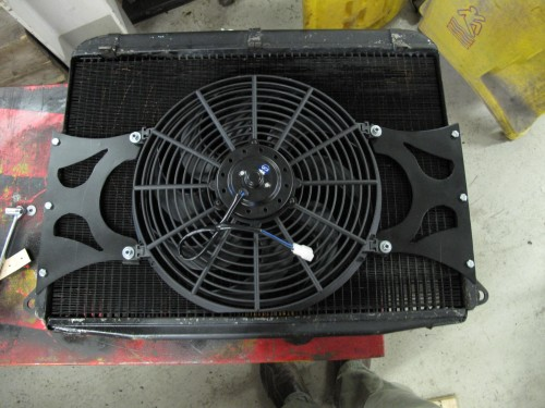 Ferrari 250 Radiator Cooling fan