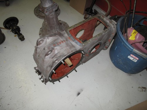 Final drive casting 8N Ford