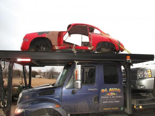 GA Bound Porsche 356 Bodyshell