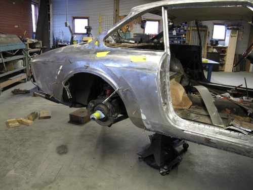 Rear fender arches GTC