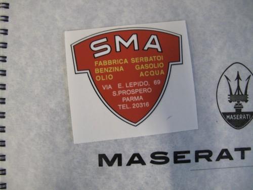 SMA Maserati Sticker