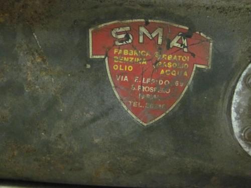 Maserati SMA Original Sticker