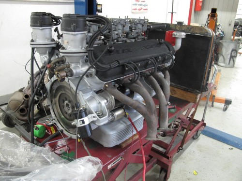 Ferrari engine, 250 completed