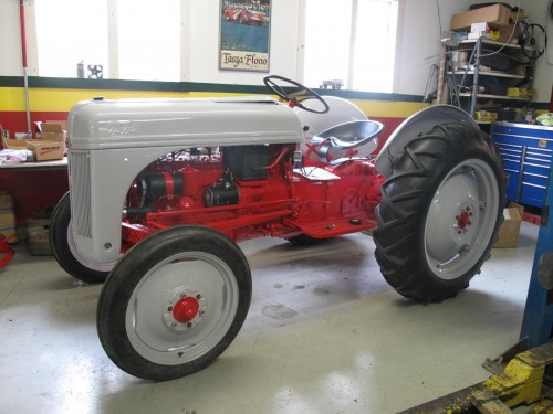 Ford 8N Restored with new parts and finishes