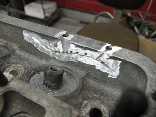 Ferrari 330 Cylinder head repair