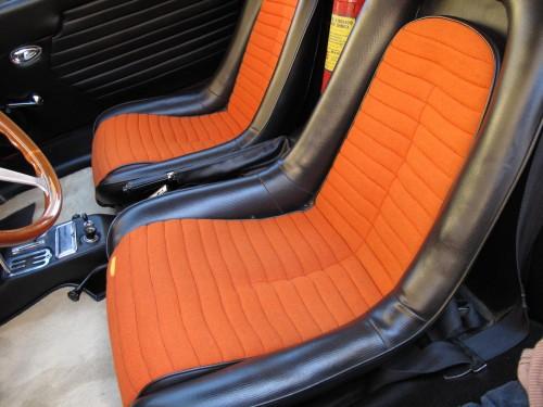 Upholstery Dino 206 Seats