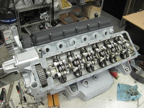 Assembling a 250 engine
