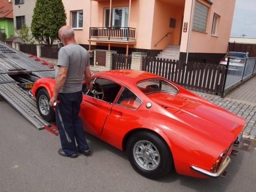 206 Ferrari Dino Transporter