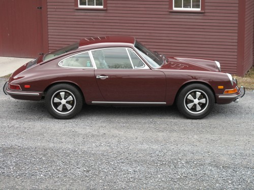 1968 912 Coupe Burgendy for sale