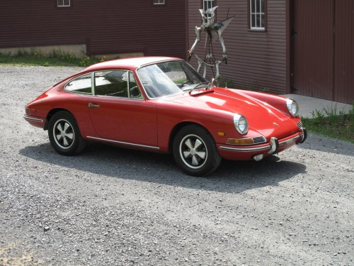 1968 Porsche 912 in Polo Red