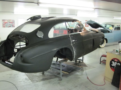 Ferrari 166 In Epoxy Primer