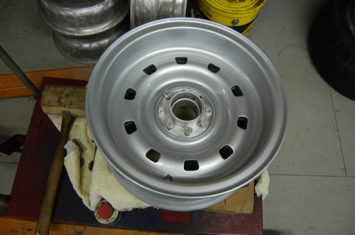 Repainted Ferrari 330 Wheel