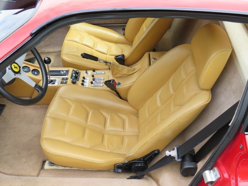 Later model 308GTB interior in a 1980