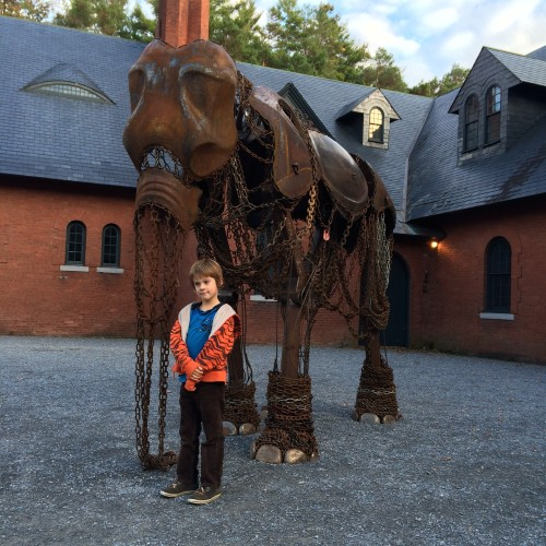 Full Scale Elephant Sculpture