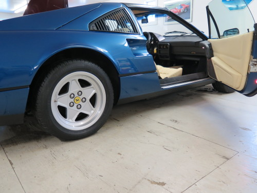 Blue Chiaro and Crema Ferrari 328
